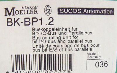 Klöckner Moeller BK-BP1.2 Buskoppleeinheit für BIT-I/O Bus &Parallelbus -unused- – Bild 2