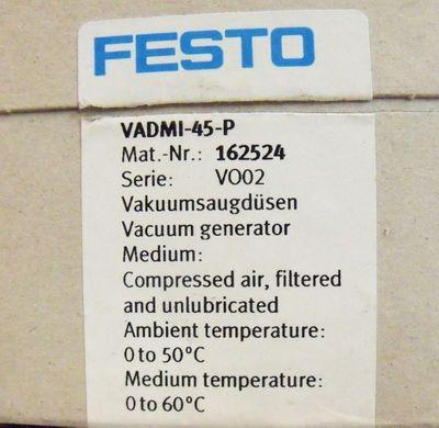 Festo VADMI-45-P Mat.-Nr. 162524 Vakuumsaugdüsen -unused/OVP- – Bild 3