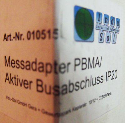 Indusol Profibus Messadapter PBMA/ Aktiver Busabschluss IP20 -unused/OVP- – Bild 2