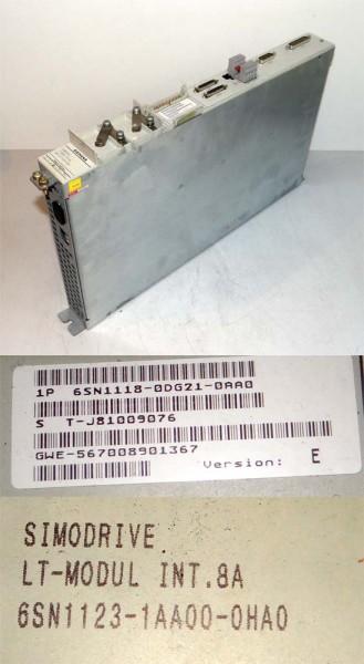 Siemens Simodrive LT-Modul 6SN1118-0DG21-0AA0  6SN1 118-0DG21-0AA0