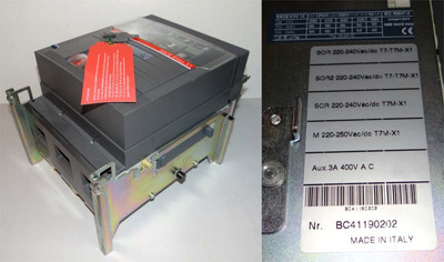 ABB Emax X1 SaceX1N12 Nr. BC41190202 Frequenzumrichter -unused-