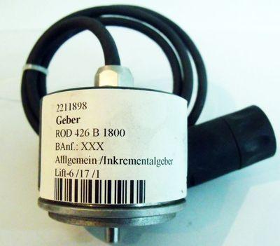 HEIDENHAIN ROD 426 B 1800 ROD426B1800  25168198 Drehgeber -used- – Bild 1