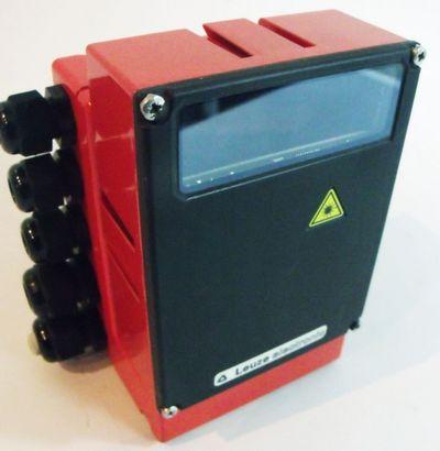 Leuze Lichtschranke BCL 40 R1 M 100 m. Anschlußeinheit MA 10 100 -used- – Bild 1