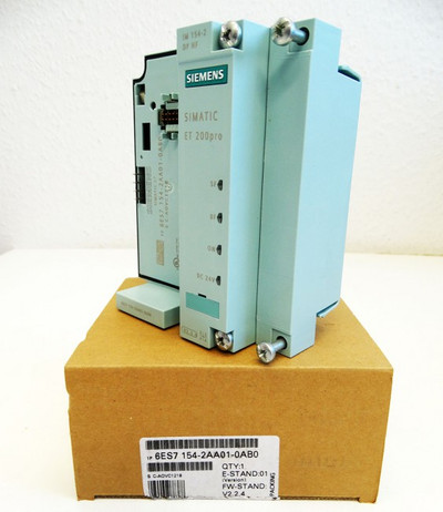 Siemens Interface-Modul 6ES7154-2AA01-0AB0 6ES7 154-2AA01-0AB0 E:01 -unused/OVP- – Bild 1