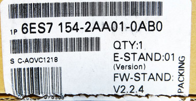 Siemens Interface-Modul 6ES7154-2AA01-0AB0 6ES7 154-2AA01-0AB0 E:01 -unused/OVP- – Bild 3