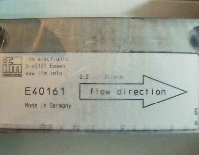 ifm efector300 E40161  Adapterblock für Durchfluss-Sensor  - unused - in OVP – Bild 2