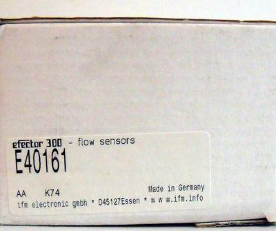 ifm efector300 E40161  Adapterblock für Durchfluss-Sensor  - unused - in OVP – Bild 3