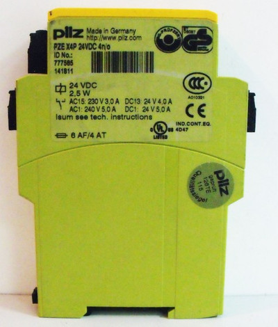 PILZ PZE X4P 24VDC 4n/o  PZEX4P24VDC4n/o 777585 -used- – Bild 2