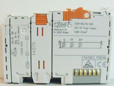 WAGO 753-602 Potentialeinspeiseklemme -used- – Bild 2