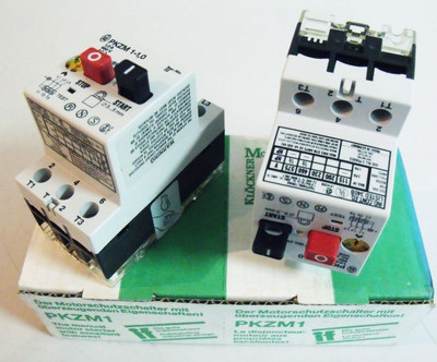 Klöckner Moeller PKZM1-1 Motorschutzschalter (2er Pack) – Bild 1