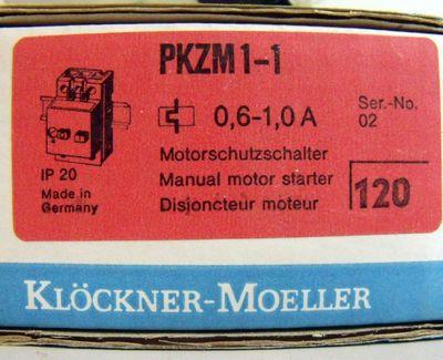 Klöckner Moeller PKZM1-1 Motorschutzschalter (2er Pack) – Bild 3