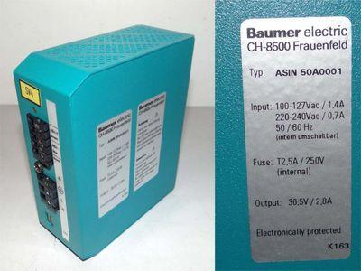 Baumer electric ASIN 50A0001