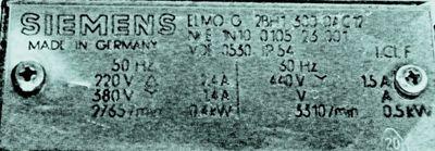 Siemens Seitenkanalverdichter ELMO-G  2BH1 300-OAC12 – Bild 3