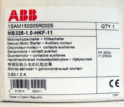ABB MS325-1.0-HKF-11 MS325-1,0 + HKF-11 1SAM150005R0005 -unused/OVP- – Bild 3