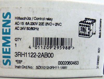 Siemens 3RH1122-2AB00 3RH1 122-2AB00 -OVP- – Bild 3