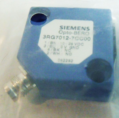 Siemens Opto-Bero Einweg-Lichtschranke 3RG7012-7CC00 -OVP- – Bild 2
