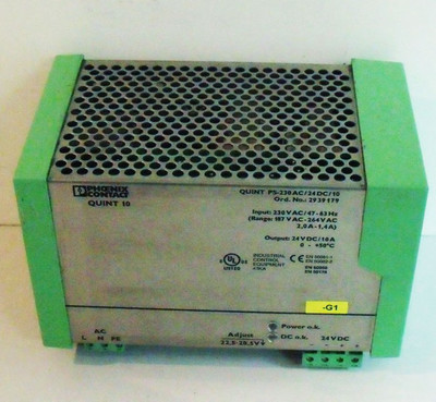 Phoenix Contact Quint 10 PS-230 AC/ 24DC/10  Ord. No. 2923179 Power Supply -used- – Bild 2