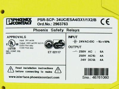 Phoenix Contact PSR-SCP-24UC/ESA4/3X1/1X2/B Order Nr. 2963763 – Bild 3