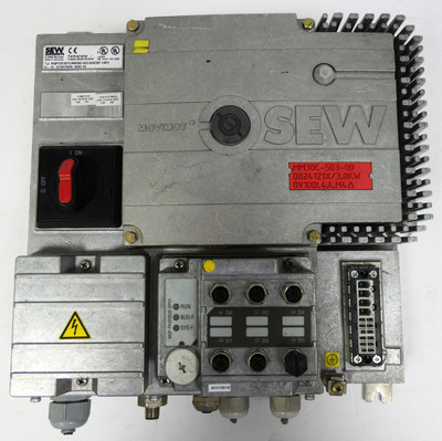SEW Movimot MQP32D/QYC/MM30C-503-00/Z28F 1/AF2 Feldverteiler Profibus DP -used- – Bild 1