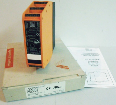 ifm ecosys asi AC2251 AC 2251 Interface Modul -unused/OVP- – Bild 1