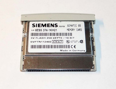 Siemens Simatic S5 6ES5 374-1KH21  6ES5374-1KH21 E-Stand: 4 -used-