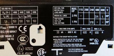 Moeller PKZM 0-1,6  Motorschutzschalter -unused/OVP- – Bild 2