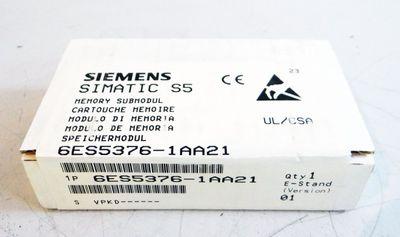 Siemens 6ES5376-1AA21  6ES5 376-1AA21  E-Stand: 01    versiegelt – Bild 1