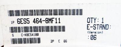 Siemens SIMATIC S5 6ES5464-8MF11 6ES5 464-8MF11 E-Stand: 06 -sealed- – Bild 2