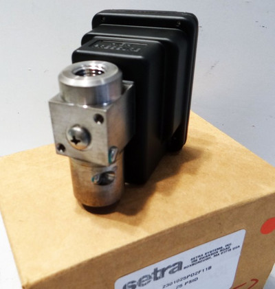 SETRA Systems 2301025PD2F11B Differenzdruckumformer Pressure Transmitter -unused – Bild 1