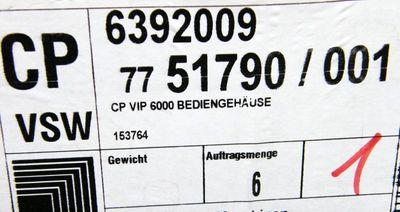 Rittal CP 6392009 Bediengehäuse VIP 6000 Schaltschrank – Bild 3