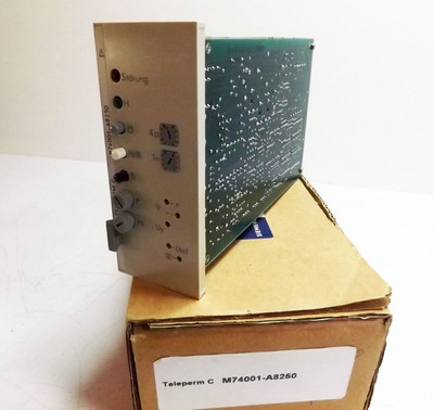 Siemens Teleperm C  M74001-A8250 gebraucht/used – Bild 1
