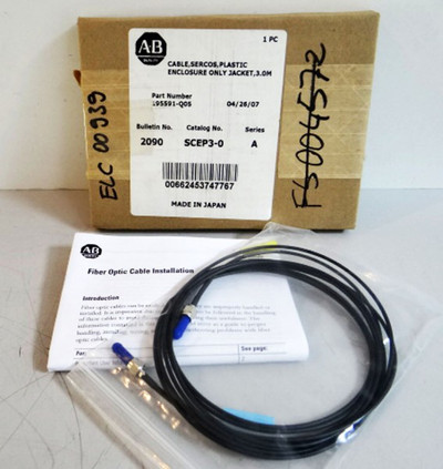 AB  Allen Bredley Fiber Optic Cable  2090-SCEP3-0 Series: A  – Bild 1