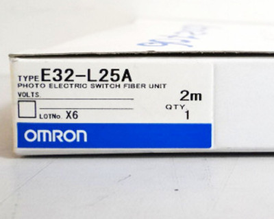 Omron E32-L25A 2m Photo Electric Switch Fiber Unit -unused/OVP- – Bild 2
