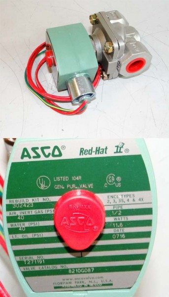 ASCO Red Hat 2/2 Wegeventil 8210G087