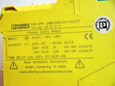 Phoenix Contact PSR-SPP- 24DC/ESD/5X1/1X2/0T5 Order-Nr. 2981130 – Bild 2