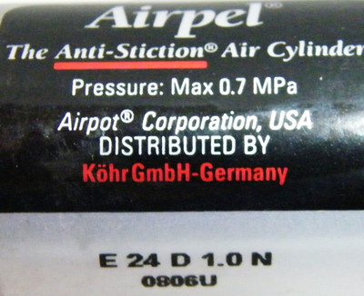 AIRPEL Anti-Stiction Air Cylinder  E24 D 1.0N 0806U – Bild 3