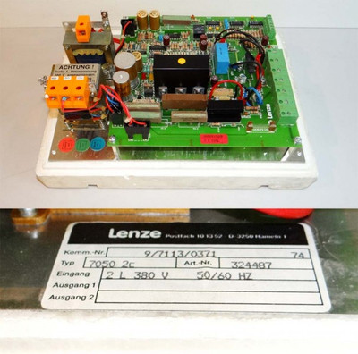 Lenze 7050 2c  7050 2c  Art. Nr. 324487 -unused-