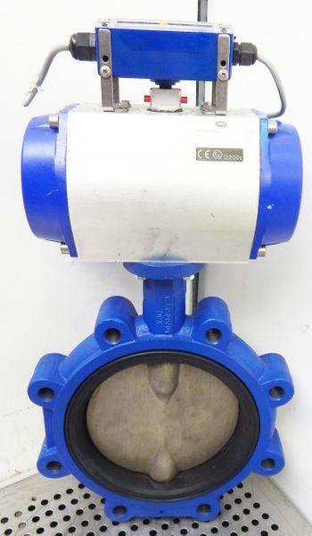 Centerline Absperrklap.DN200 mit pneumat.Revo Schwenkantrieb RD50500070R00-used- – Bild 1