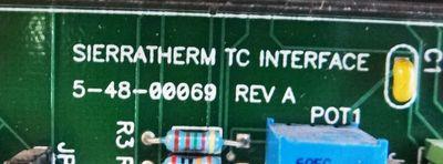 Sierratherm 5-48-00069   Rev A    TC Interface – Bild 2