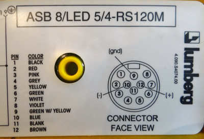 Lumberg ASB 8/LED 5/4-RS120M   Distribution Block – Bild 2