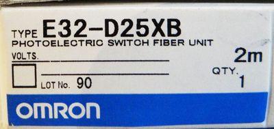 Omron E32-D25XB    2m    Photoelectric Switch Fiber Unit – Bild 2