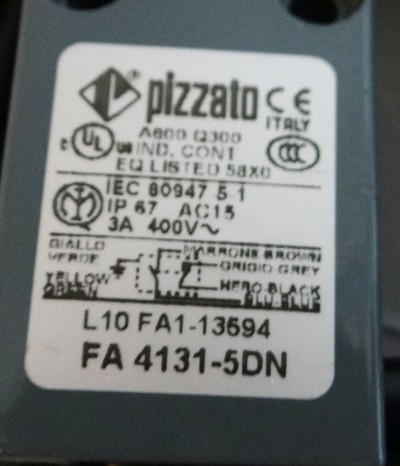 Pizzato FA4131-5DN FA 4131-5DN Limitd Switch/ Endschalter -unused- – Bild 2