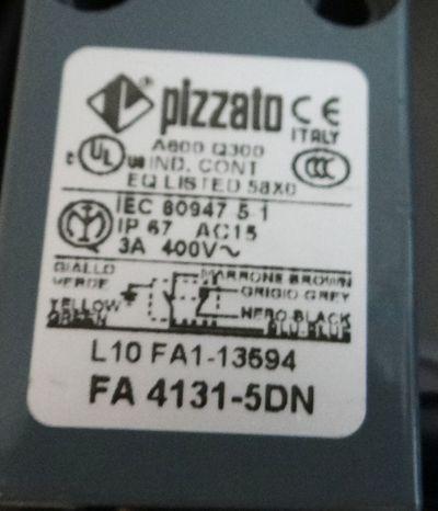 Pizzato FA4131-5DN FA 4131-5DN Limitd Switch/ Endschalter -unused- – Bild 2