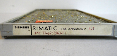 Siemens Simatic - Steuersystem P A31 arb 11-p2d2563-1a  A31ARB11-p2d2563-1A – Bild 2