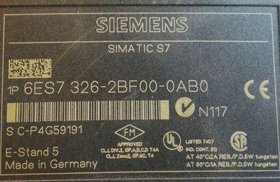 Siemens 6ES7326-2BF00-0AB0  6ES7 326-2BF00-0AB0   E-Stand: 05 – Bild 2