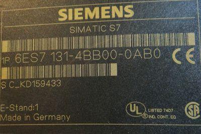 Siemens 6ES7131-4BB00-0AB0  6ES7 131-4BB00-0AB0  E-Stand: 1   VE = 5 Stck. – Bild 2