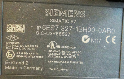 Siemens Simatic S7  6ES7327-1BH00-0AB0   6ES7 327-1BH00-0AB0   E: 2 – Bild 2