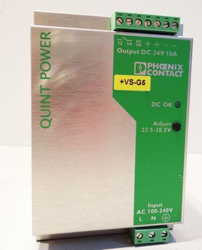 Phoenix Contact Quint Power Supply, QUINT-PS-100-240AC/24DC/10  # 2938604 -used- – Bild 1