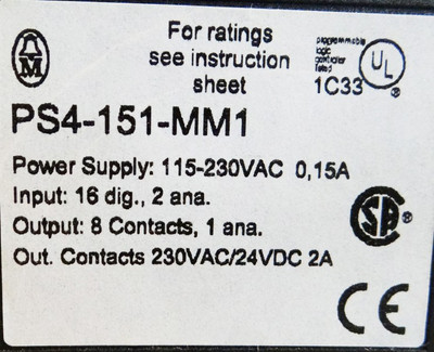 Klöckner Moeller PS4-151-MM1  Compact Controler -used- – Bild 3