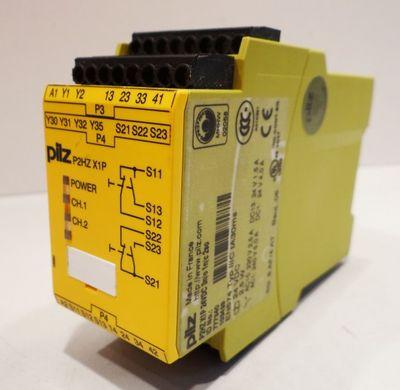 Pilz P2HZ X1P 24VDC 3n/c 2so  ID-No. 777340 Zweihandbediengerät – Bild 1
